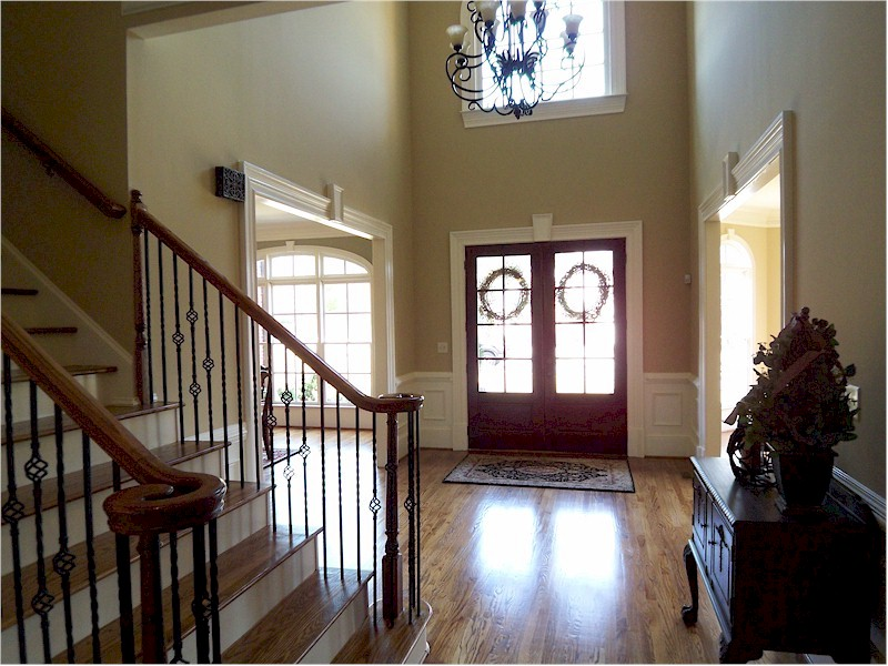 Two Story Entry Foyer : Alpharetta georgia real estate home for sale
