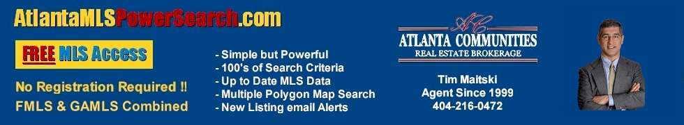 Atlanta MLS Power Search